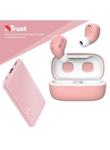Trust Trust Nika Compact Pembe Bluetooth Kulak ıçi Kulaklık Powerbank Hediyeli Renkli